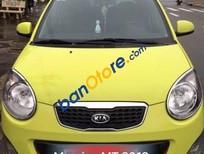 Bán xe Kia Morning MT đời 2012, màu vàng số sàn