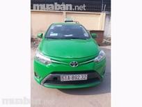 Cần bán lại xe Toyota Vios E đời 2014, màu xanh lục, nhập khẩu chính hãng