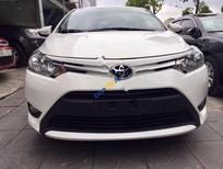 Cần bán xe Toyota Vios E 1.5MT đời 2017, màu trắng, 535 triệu