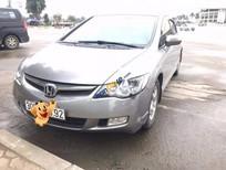 Bán Honda Civic 1.8 AT 2008, màu bạc số tự động