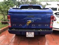 Cần bán lại xe Ford Ranger XLS AT đời 2015, màu xanh lam số tự động