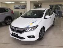 Bán xe Honda City 1.5TOP năm sản xuất 2017, màu trắng, giá chỉ 604 triệu