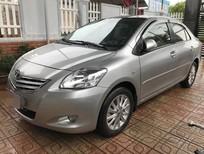 Cần bán gấp Toyota Vios E đời 2011, màu bạc