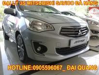 Bán Mitsubishi Attrage tại Đà Nẵng, màu bạc, nhập khẩu, hỗ trợ vay nhanh đến 80 %