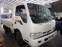 Bán xe Thaco Kia K165S thùng lửng 3m5, tải trọng 2t49, màu trắng, giá tốt