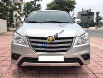 Chính chủ bán Toyota Innova 2.0E 2016, màu bạc