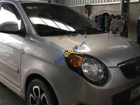 Bán xe Kia Morning SLX 1.0 AT đời 2010, màu bạc