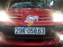 Bán Nissan Pixo 1.0AT đời 2011, màu đỏ, nhập khẩu
