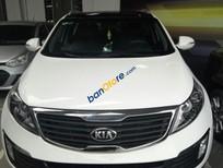 Bán Kia Sportage, 2.0AT, 2013, màu trắng, nhập HQ, cho vay 75%
