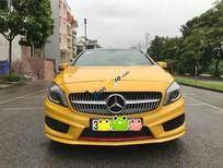 Bán xe Mercedes A class 250 AMG đời 2013, màu vàng, nhập khẩu nguyên chiếc, giá cạnh tranh