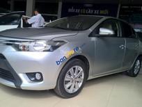 Cần bán Toyota Vios MT đời 2015, màu bạc, giá chỉ 456 tr, BH 1 năm