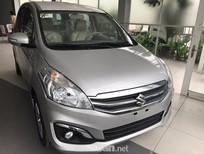 Cần bán Suzuki Ertiga đời 2017, màu bạc, xe nhập, giá tốt