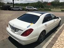 Bán Mercedes S400 2016 màu trắng, nội thất đen, xe không thể mới hơn mới đi 4500km