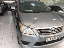 Bán xe Toyota Innova 2.0E đời 2013, màu xám