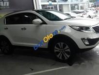 Cần bán lại xe Kia Sportage 2.0AT đời 2013, màu trắng