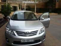 Bán xe Toyota Corolla altis đời 2013, màu bạc, nhập khẩu nguyên chiếc, số tự động