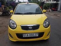 Cần bán lại xe Kia Morning SX đời 2010, màu vàng, xe nhập, số tự động giá cạnh tranh