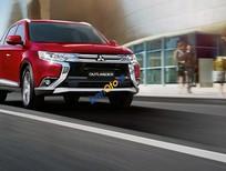 Bán Mitsubishi Outlander sản xuất 2017, màu đỏ, xe nhập