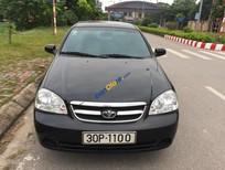 Xe Daewoo Lacetti EX 1.6MT sản xuất năm 2009, màu đen