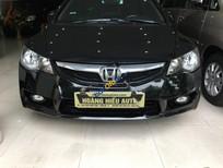 Bán Honda Civic 1.8 AT đời 2011, màu đen