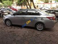 Bán gấp Toyota Vios đời 2014, màu bạc số sàn