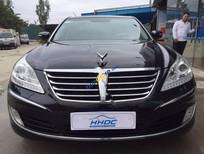 Cần bán xe Hyundai Equus 4.7AT sản xuất 2009, màu đen, nhập khẩu Hàn Quốc
