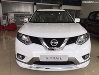 Cần bán xe Nissan X trail năm 2017, màu trắng, nhập khẩu