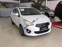 Bán Mitsubishi Attrage sản xuất 2017, màu trắng, nhập khẩu