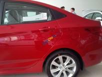 Bán ô tô Hyundai Accent đời model 2017 tại Đà Nẵng, màu đỏ, nhập khẩu chính hãng