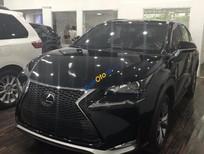 Bán xe Lexus NX 200t F-Sport sản xuất 2016, màu đen