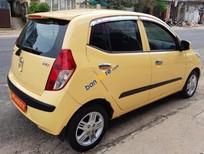 Cần bán Hyundai i10 1.1 AT đời 2010, màu vàng, nhập khẩu - Hỗ trợ vay ngân hàng 70% giá trị nhanh gọn