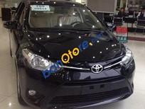 Bán xe Toyota Vios 1.5E MT năm 2017, màu đen, giá chỉ 497 triệu