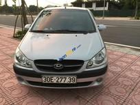 Bán xe cũ Hyundai Getz đời 2010, màu bạc, nhập khẩu