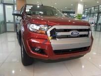 Bán Ford Ranger XLS 2.2L 4x2 MT đời 2017, màu đỏ, nhập khẩu