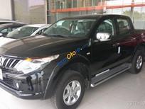 Bán xe Mitsubishi Triton 4x2 MT sản xuất 2018, màu đen, xe nhập