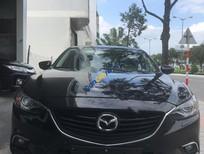 Bán ô tô Mazda 6 2.0 AT năm 2015, màu đen
