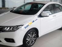Bán Honda City 1.5TOP sản xuất năm 2017, màu trắng