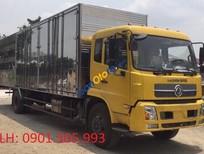 Bán xe tải thùng dài 9.3m Dongfeng, thùng kín năm 2017, nhập khẩu nguyên chiếc