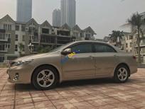 Bán xe Toyota Corolla altis 2.0AT đời 2010, màu vàng như mới, 555 triệu