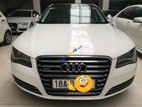 Cần bán Audi A8 L 3.0 Quattro model 2012, màu trắng, chạy lướt 11000km, như xe mới