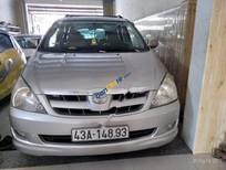Cần bán xe Toyota Innova J đời 2006, màu bạc, giá 260tr