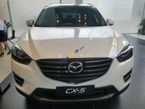 Cần bán xe Mazda CX 5 2.0 AT sản xuất năm 2017, màu trắng, giá tốt