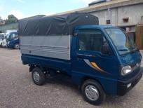 Xe tải nhẹ máy xăng Thaco Towner, giá tốt đầy đủ loại thùng mui phủ bạt, thùng kín, giá tốt