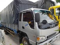 Bán xe tải JAC 6T4 sản xuất 2015, màu bạc, máy zin 100%
