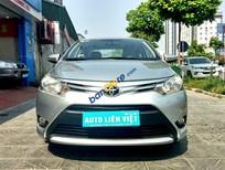 Cần bán gấp Toyota Vios E năm 2014, màu bạc số sàn