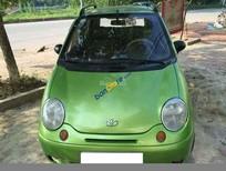 Cần bán Daewoo Matiz đăng ký lần đầu 2005, màu xanh, xe đi 17 vạn