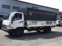 Bán xe tải Hyundai HD120S 8 tấn thùng mui bạt, giá tốt nhất tại Hyundai Bình Chánh