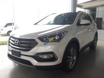Bán xe Hyundai Santa Fe đời 2017, màu trắng từ 898tr, LH: 0947647688