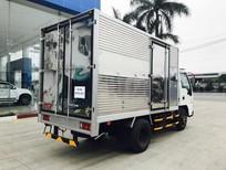 Hãng Isuzu Hải Dương Hải Phòng bán xe 1.9 tấn thùng kín, thùng lửng, thùng phủ mui bạt