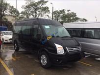 Bán xe Ford Transit SVP đời 2017, màu đen, điều hòa trần
